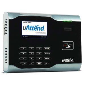 uattend RFID attendance system swipe card/fob clocking machine