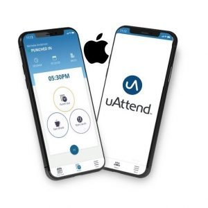 uAttend clocking in app for iPhones