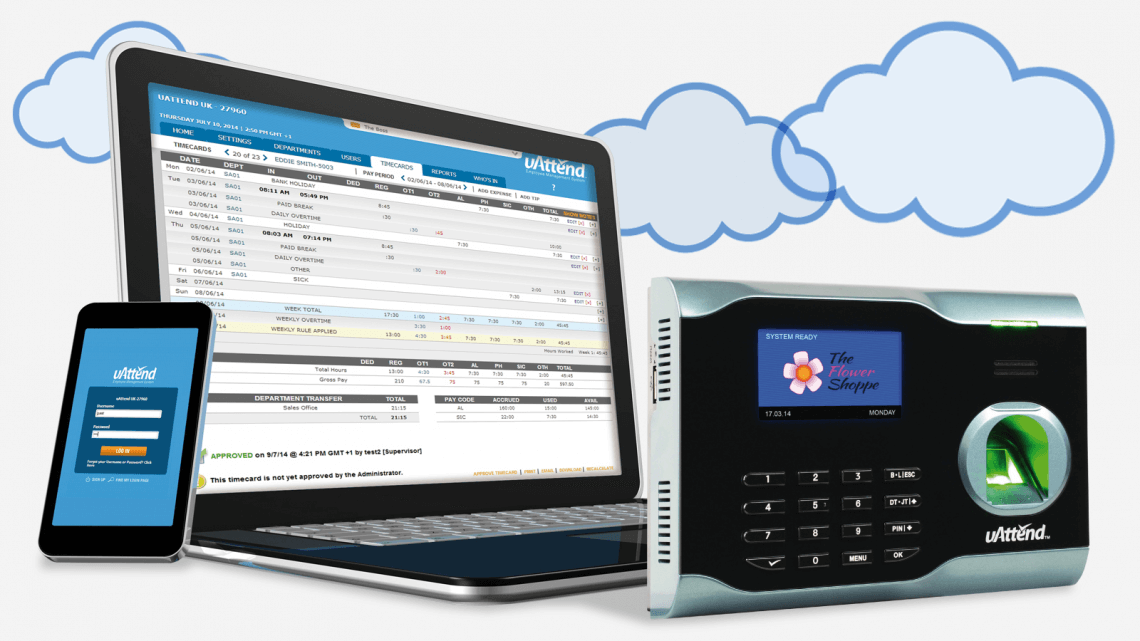 Cloud Based Time Amp Attendance Systems Uattend