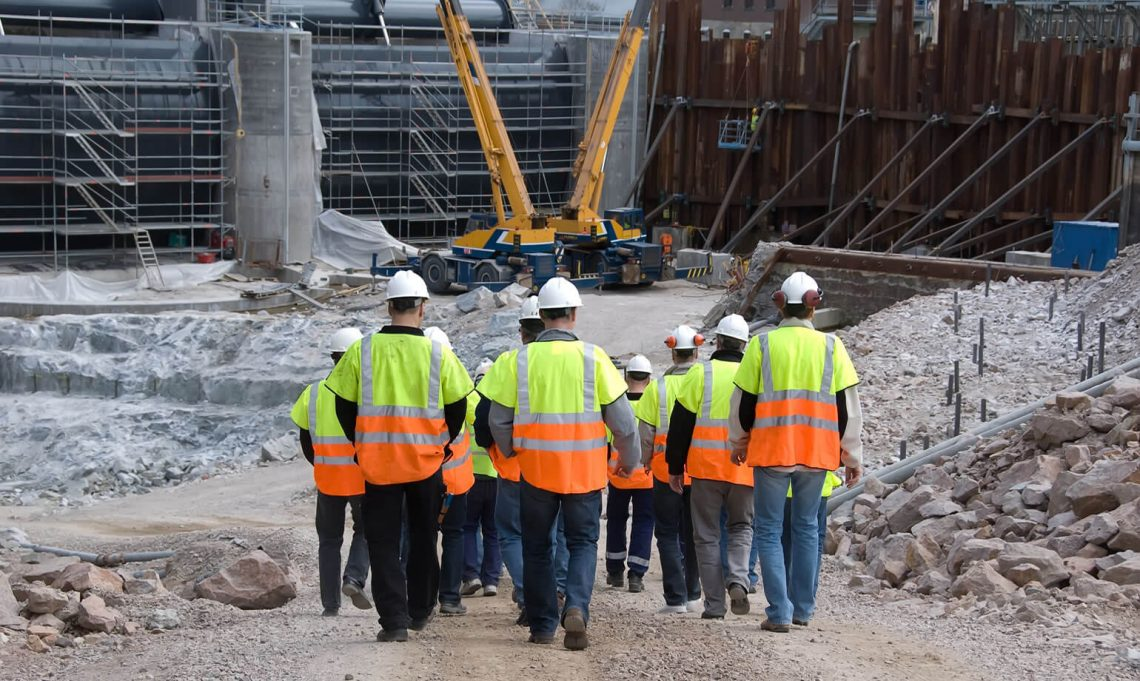uAttend is used by many construction companies in the UK for clocking in