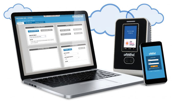 uAttend Clocking System | Cloud-Based | Biometric & Phone