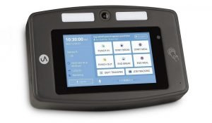 DR2000 Touch-Free Facial Recognition Clocking Unit