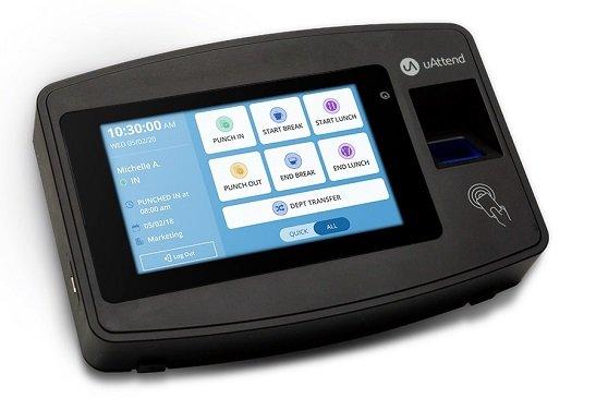 uAttend Biometric Fingerprint Terminal